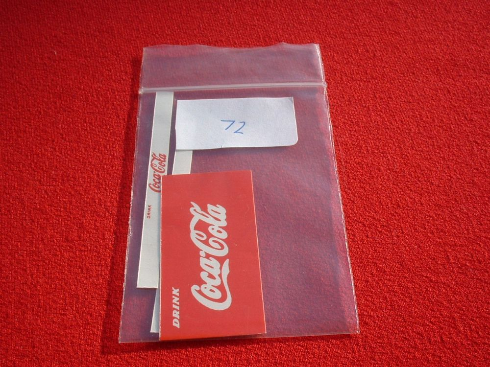 "Dinky Toys 402 BEDFORD LORRY ""COCA-COLA"" These are stickers TRANSFERS / DECALS"